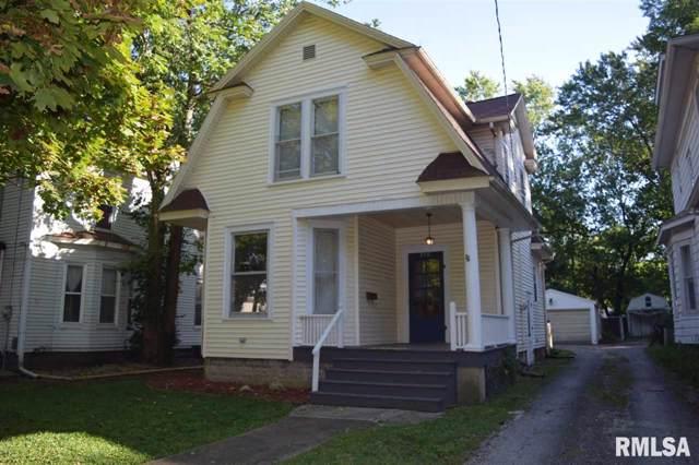 715 W Douglas Avenue, Jacksonville, IL 62650 (#CA2688) :: Paramount Homes QC
