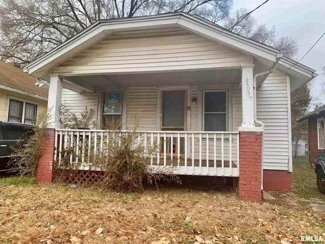 2403 W Howett Street, Peoria, IL 61605 (#PA1210756) :: RE/MAX Preferred Choice
