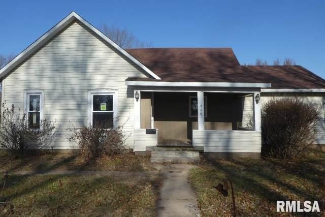 608 W Chestnut Street, Mason City, IL 62664 (#CA997155) :: Killebrew - Real Estate Group