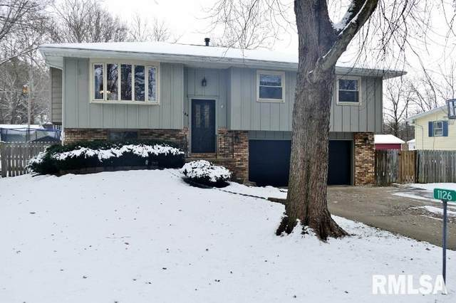 1126 N Robert Drive, East Peoria, IL 61611 (#PA1212674) :: The Bryson Smith Team