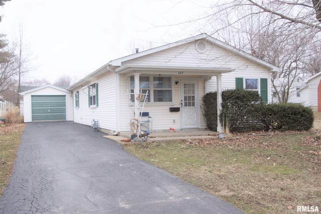 669 E Vernon Street, Farmington, IL 61531 (#PA1213426) :: Adam Merrick Real Estate