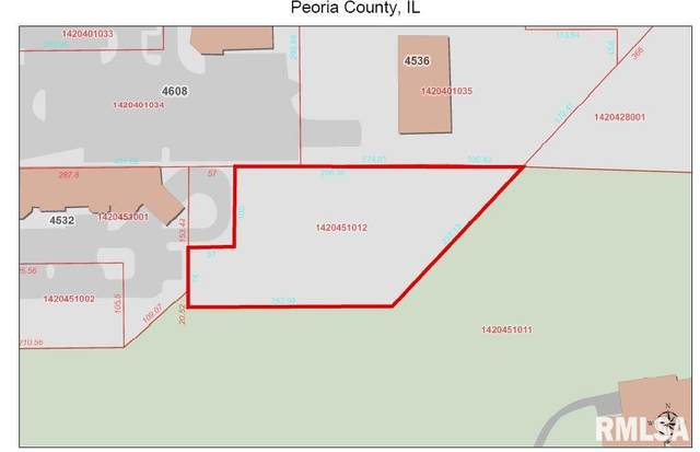 4600 N University Street, Peoria, IL 61614 (#PA1213819) :: Adam Merrick Real Estate