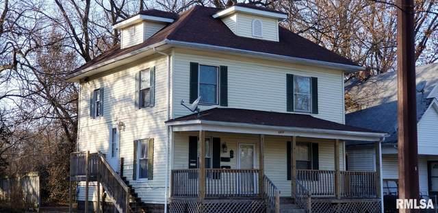 1213 S 14TH Street A/B/C, Springfield, IL 62703 (#CA1000104) :: Paramount Homes QC