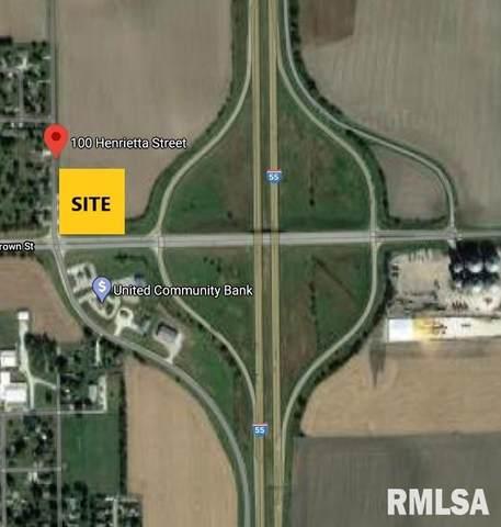 100 N Henrietta, Divernon, IL 62520 (#CA1000864) :: RE/MAX Professionals