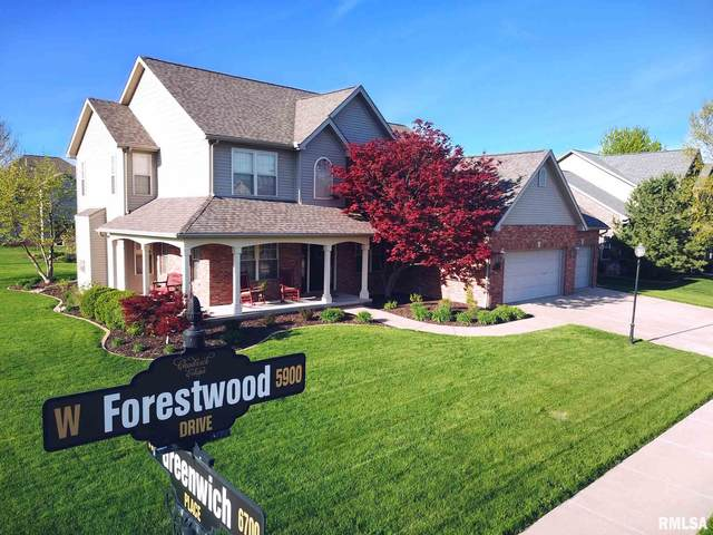 5917 W Forestwood Drive, Peoria, IL 61615 (#PA1217399) :: Paramount Homes QC