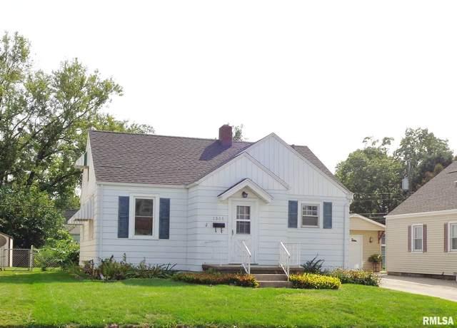 1508 W Circle Road, Peoria, IL 61604 (#PA1218869) :: Killebrew - Real Estate Group