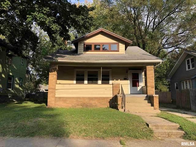 1814 California Avenue, Peoria, IL 61603 (#PA1219867) :: RE/MAX Professionals