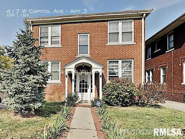 417 W Capital Avenue, Springfield, IL 62704 (#CA1003472) :: The Bryson Smith Team