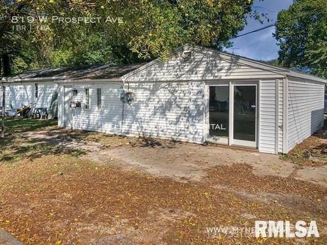 819 W Prospect Street, Springfield, IL 62704 (#CA1003475) :: The Bryson Smith Team