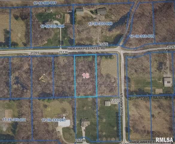 Lot 8 Hideaway Estates, Petersburg, IL 62675 (#CA1004274) :: RE/MAX Preferred Choice
