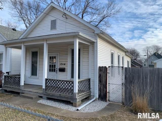 1314 S Western Avenue, Peoria, IL 61605 (#PA1221713) :: RE/MAX Preferred Choice