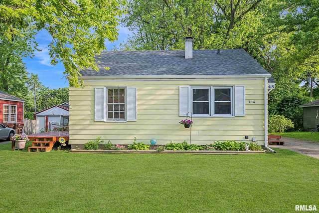 416 W Lakewood Avenue, Peoria, IL 61614 (#PA1225827) :: RE/MAX Professionals