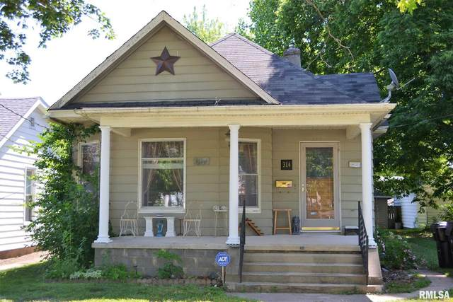 314 N Prairie Street, Jacksonville, IL 62650 (#CA1007782) :: Kathy Garst Sales Team