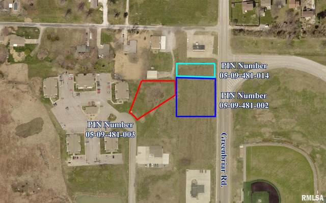 Lot 1/2 Greenbriar Road, Carterville, IL 62918 (#QC4224350) :: Paramount Homes QC