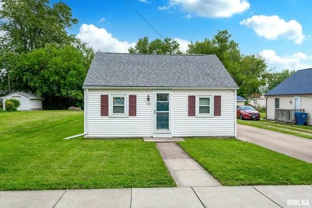 114 1ST Street, Carbon Cliff, IL 61239 (#QC4224429) :: Killebrew - Real Estate Group