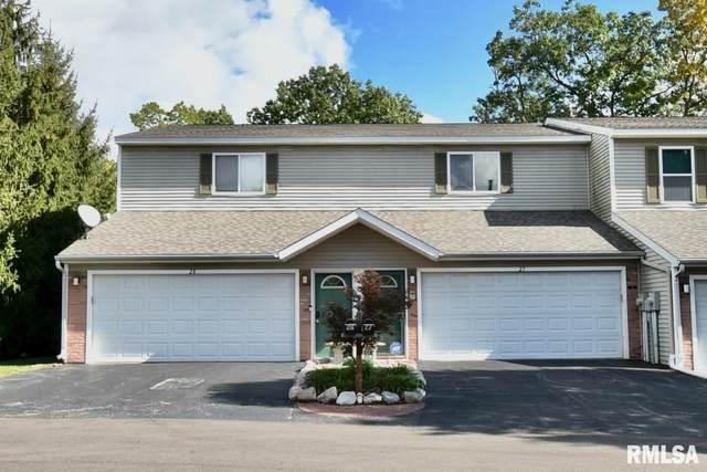 3510 N Kingston Drive #27, Peoria, IL 61604 (#PA1229798) :: Paramount Homes QC