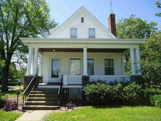 216 E Church, Pleasant Plains, IL 62677 (#CA193400) :: Killebrew - Real Estate Group