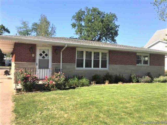 205 E 3RD, Pleasant Plains, IL 62677 (#CA193812) :: Killebrew - Real Estate Group