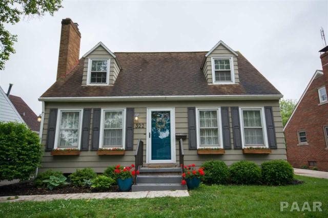 322 N Kickapoo Terrace, Peoria, IL 61604 (#1184157) :: Adam Merrick Real Estate