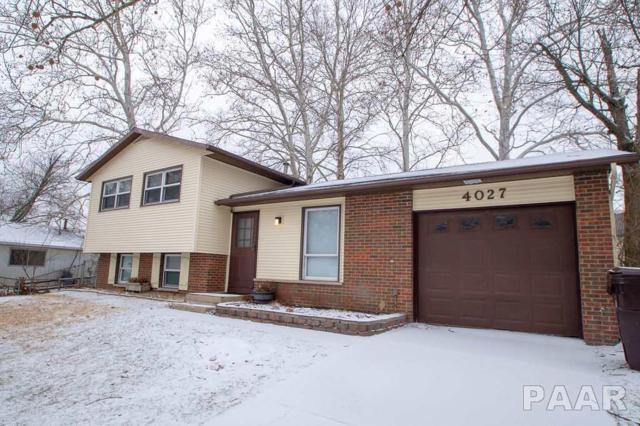 4027 W Creighton Terrace, Peoria, IL 61615 (#1201526) :: Adam Merrick Real Estate