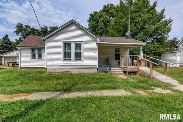 313 E 3RD Street, Pleasant Plains, IL 62677 (#CA1357) :: Killebrew - Real Estate Group