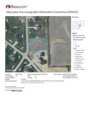 Lot 29 Whispering Pines, Muscatine, IA 52761 (#QC4209241) :: Paramount Homes QC