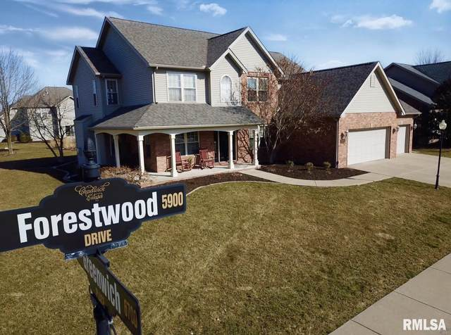 5917 W Forestwood Drive, Peoria, IL 61615 (#PA1212808) :: The Bryson Smith Team