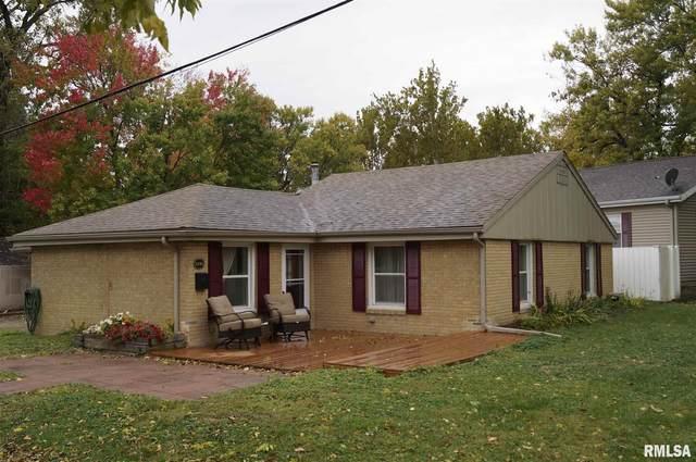 1400 W Crestwood Drive, Peoria, IL 61614 (#PA1219656) :: RE/MAX Professionals