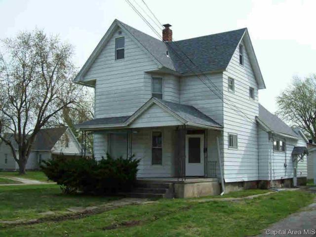 232 N Walnut, Winchester, IL 62694 (#CA192310) :: Adam Merrick Real Estate