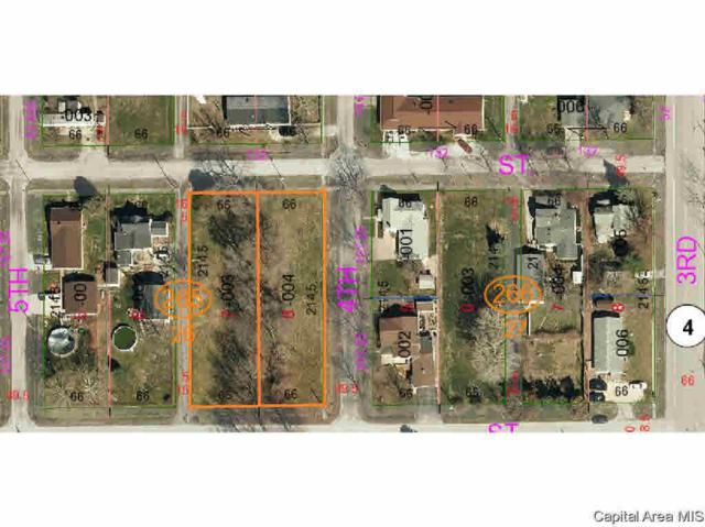 Lot 7 On 4th Street, Girard, IL 62640 (#CA191141) :: Adam Merrick Real Estate