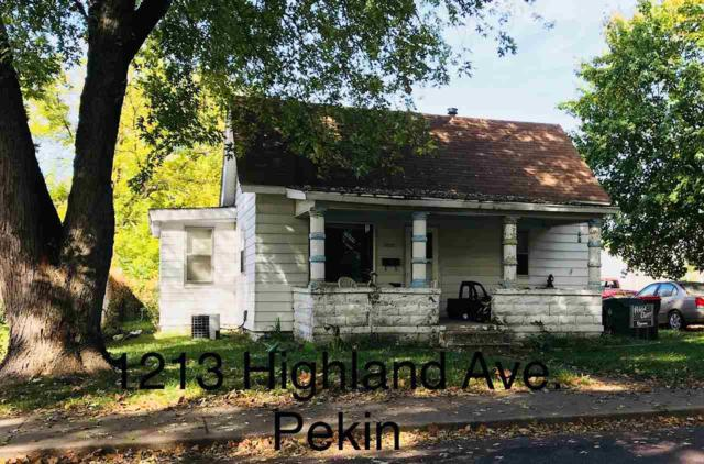 1213 Highland, Pekin, IL 61554 (#1191934) :: Adam Merrick Real Estate
