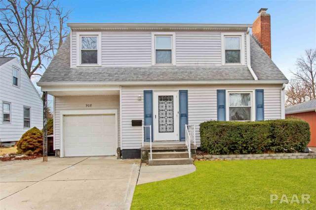 908 E Elmhurst, Peoria, IL 61603 (#1192522) :: Adam Merrick Real Estate