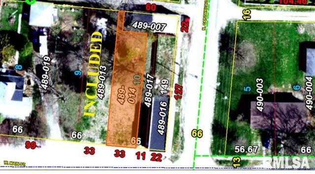 105 W Main, Pleasant Plains, IL 62677 (#CA998022) :: RE/MAX Professionals