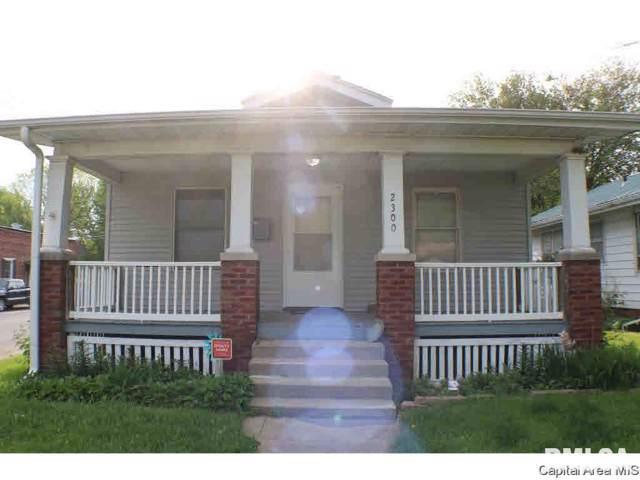 2300 S 9TH ST Street, Springfield, IL 62703 (#CA193078) :: Paramount Homes QC