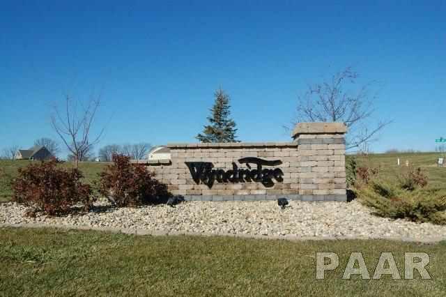 LOT 9 Crosswynd Court, Edwards, IL 61528 (#PA1091780) :: Adam Merrick Real Estate