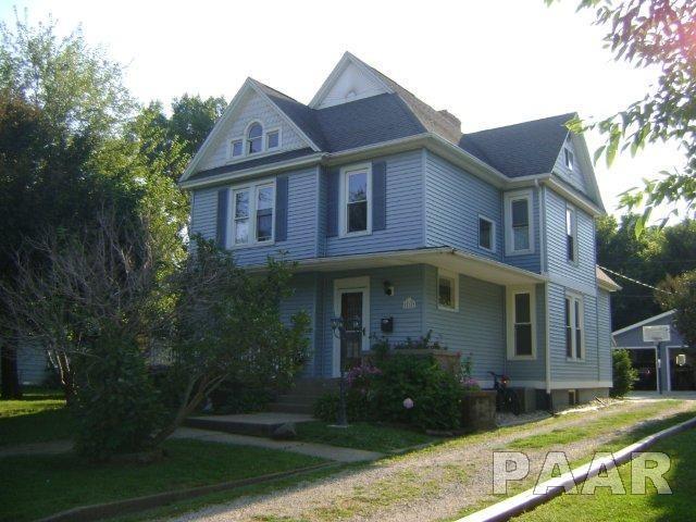 210 N Sixth, Wyoming, IL 61491 (#1166203) :: Adam Merrick Real Estate