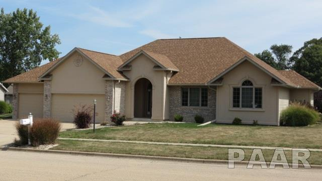 410 Phil Gould Drive, Hanna City, IL 61536 (#PA1187761) :: Adam Merrick Real Estate