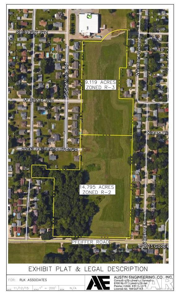 Lots Crestridge Drive, Bartonville, IL 61607 (#1188085) :: RE/MAX Preferred Choice