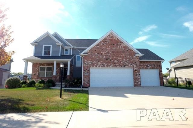 2910 W Wessex Drive, Peoria, IL 61615 (#1190243) :: Adam Merrick Real Estate