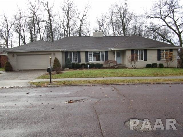 4806 W Woodway Drive, Peoria, IL 61615 (#1190685) :: Adam Merrick Real Estate