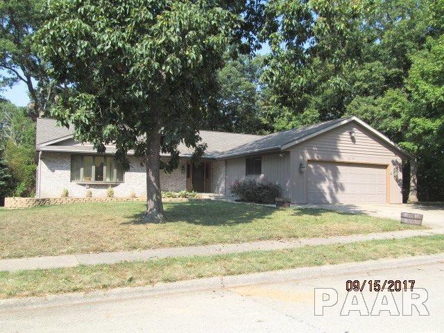 3525 N Marbleway Drive, Peoria, IL 61604 (#1191242) :: Adam Merrick Real Estate
