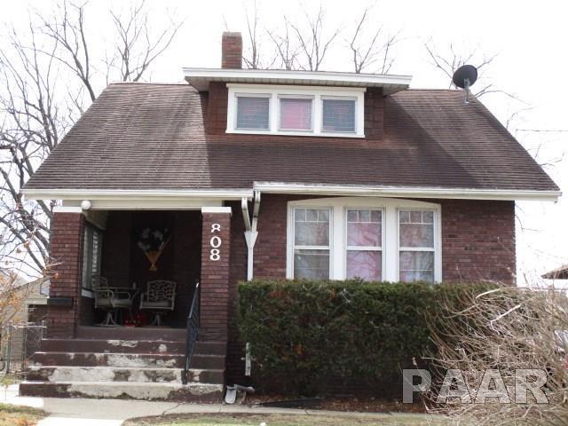 808 W Hanssler, Peora, IL 61604 (#1191924) :: Adam Merrick Real Estate