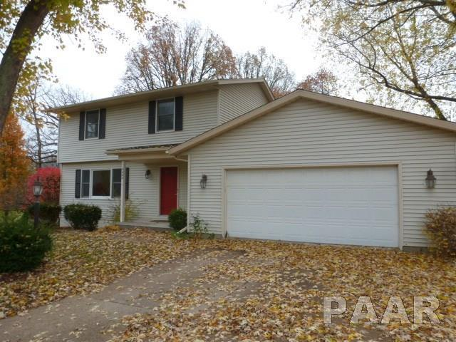 4444 W Bridalwood Drive, Peoria, IL 61615 (#1199684) :: Adam Merrick Real Estate