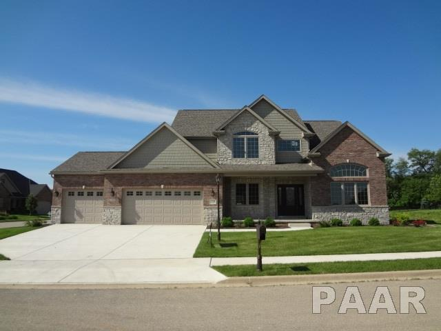 3504 W Oak Creek Court, Dunlap, IL 61525 (#1200357) :: The Bryson Smith Team