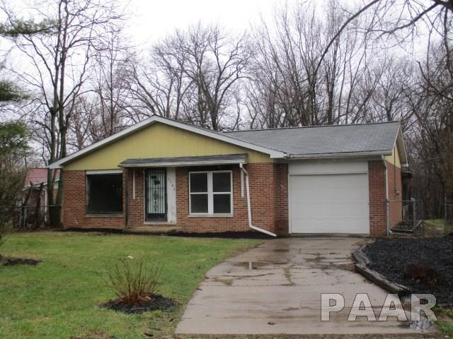 3349 Greenwood, Peoria, IL 61615 (#1200680) :: The Bryson Smith Team