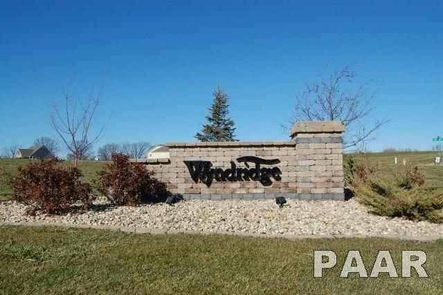 LOT 1 Wyndridge Way, Edwards, IL 61528 (#PA1203708) :: Adam Merrick Real Estate