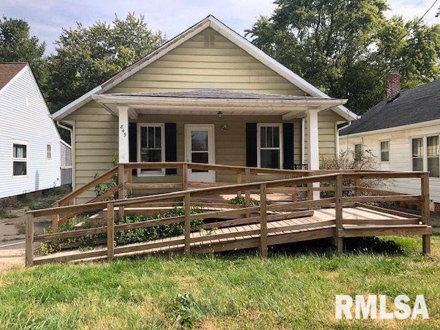 845 S Johnson Street, Macomb, IL 61455 (#PA1210110) :: RE/MAX Preferred Choice