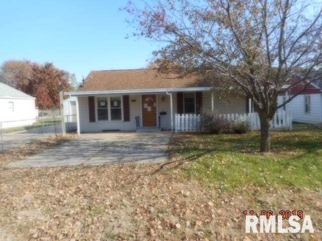 1706 N Sixth Street, Chillicothe, IL 61523 (#PA1210811) :: The Bryson Smith Team