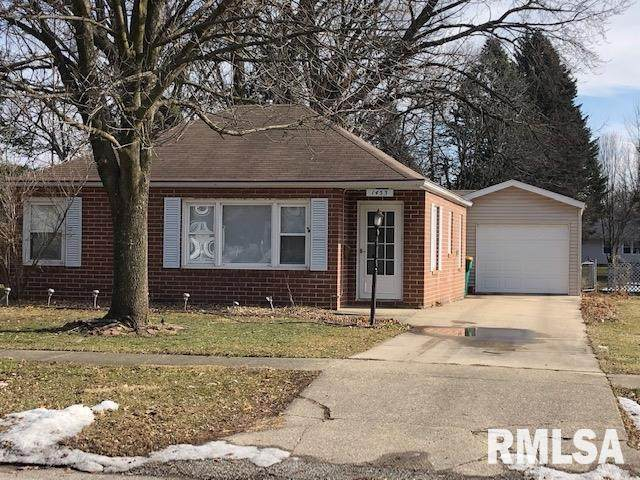 1453 Beecher Avenue, Galesburg, IL 61401 (#PA1212554) :: Nikki Sailor | RE/MAX River Cities