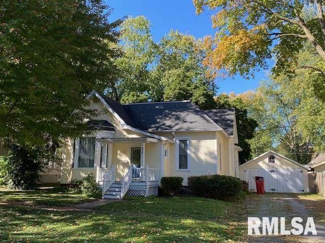 609 S 8TH Street, Petersburg, IL 62675 (#CA1003022) :: Killebrew - Real Estate Group